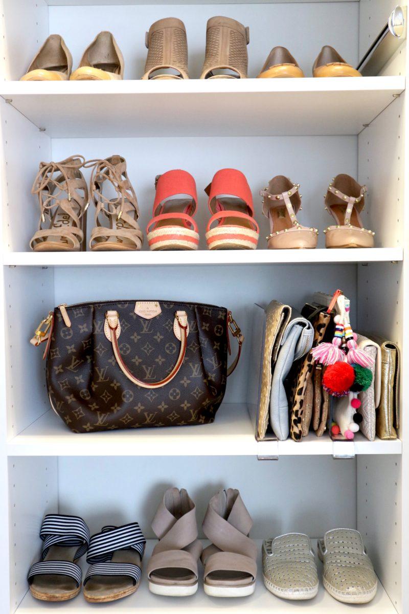 master closet shoes
