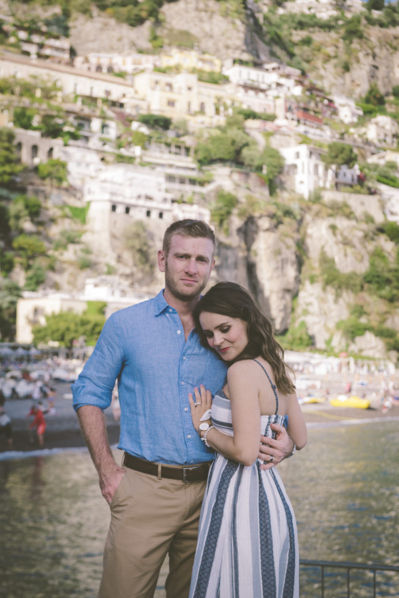 positano engagement shoot, positano anniversary shoot