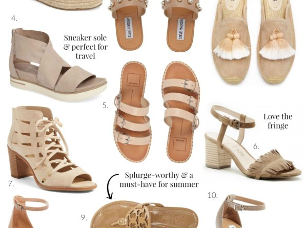 Top 10 Neutral Shoes for Summer
