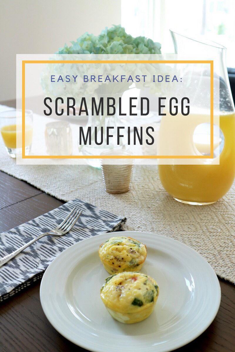 scrambled egg muffin recipe