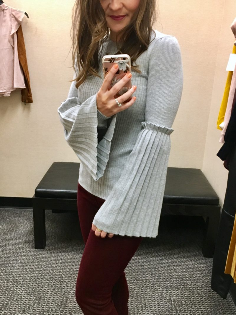 chelsea28 bell sleeve sweater, nordstrom anniversary sale