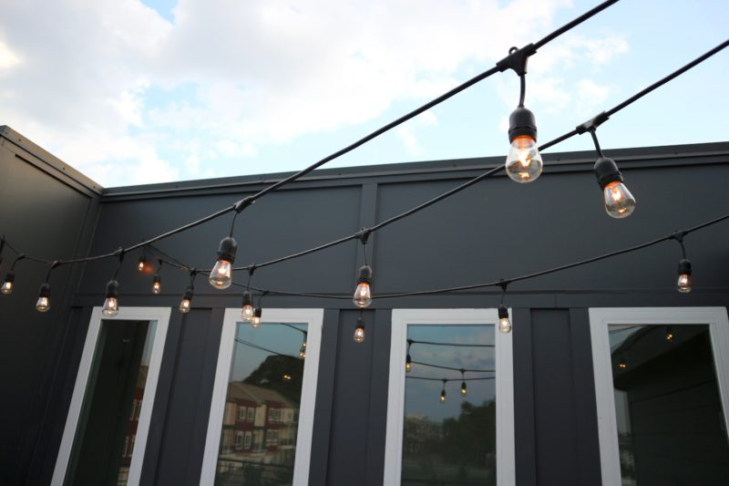 patio market lights, string lights