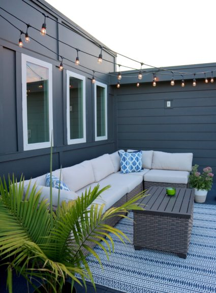 Home Tour: Rooftop Terrace
