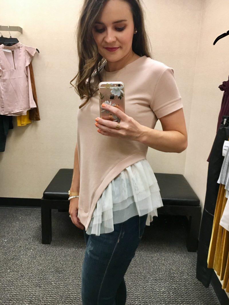 chelsea28 mixed media sweatshirt, nordstrom sale