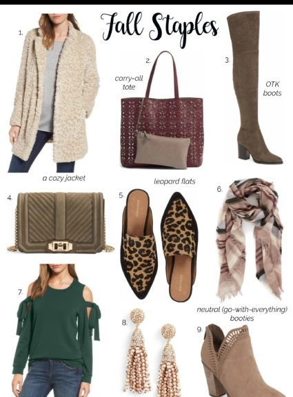 Nordstrom Anniversary Sale: Fall Staples