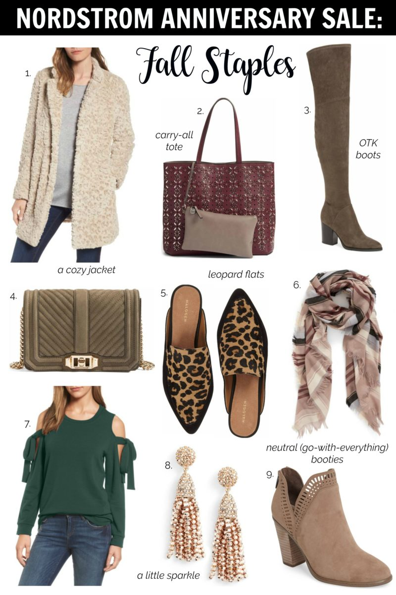 nordstrom anniversary sale fall staples