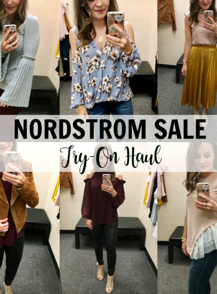 Nordstrom Sale Try-On Haul