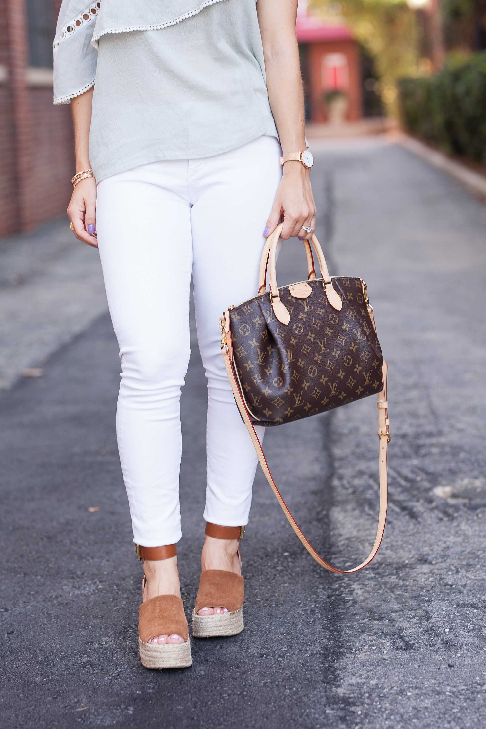 white jeans under $60, Marc Fisher adalyn espadrilles