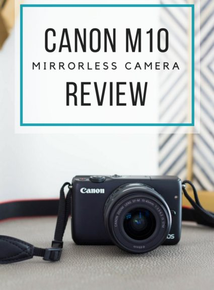 Canon M10 Mirrorless Camera Review