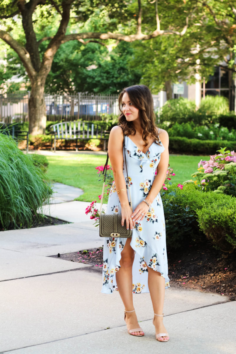 floral romper maxi dress, summer outfit under $100
