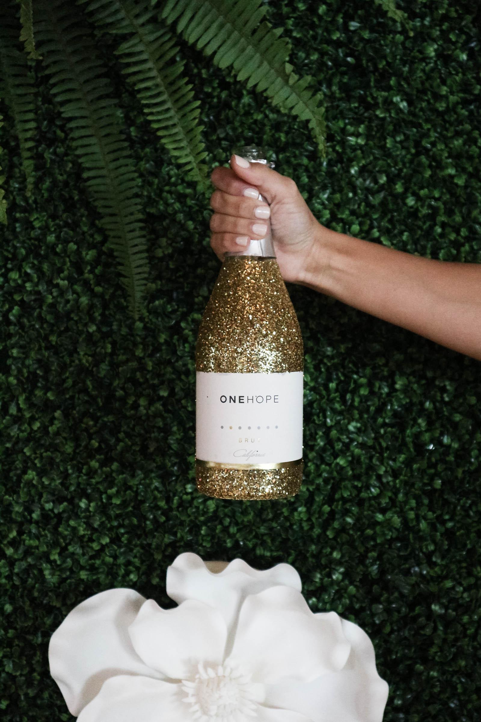 one hope glitter champagne