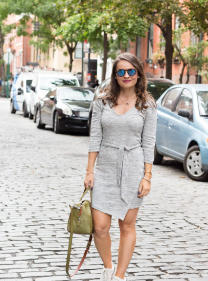 Casual Outfit in NYC: The Must-Have Dress for Fall