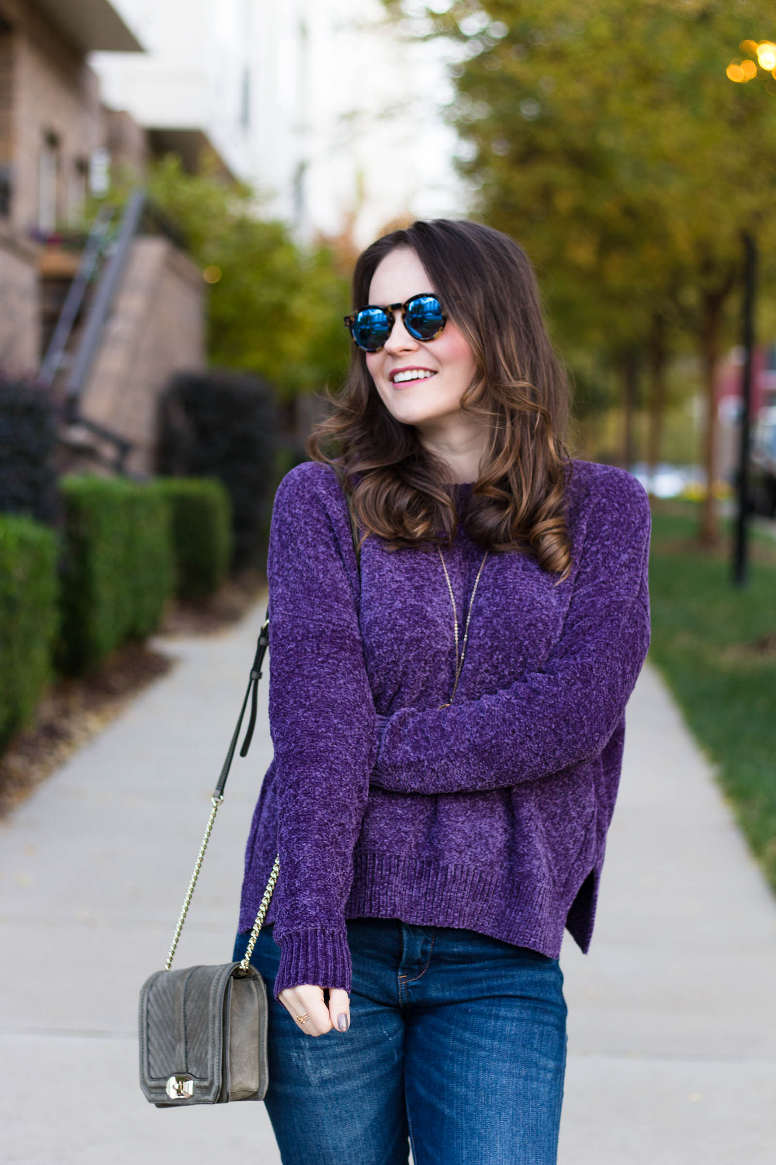 chenille any day pullover