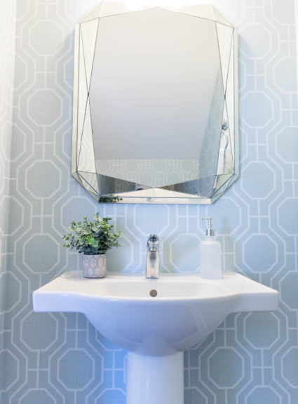 Home Tour: Powder Room