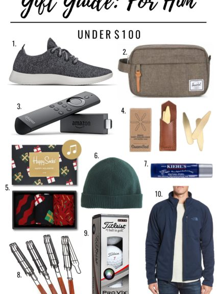 Gift Guide for Him: Under $100