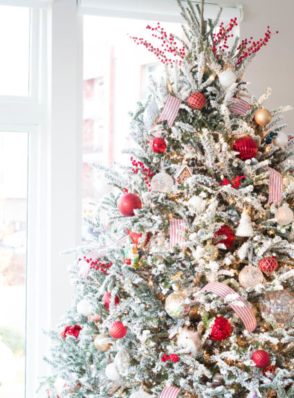 Holiday Home Decor: Christmas in Our First Home