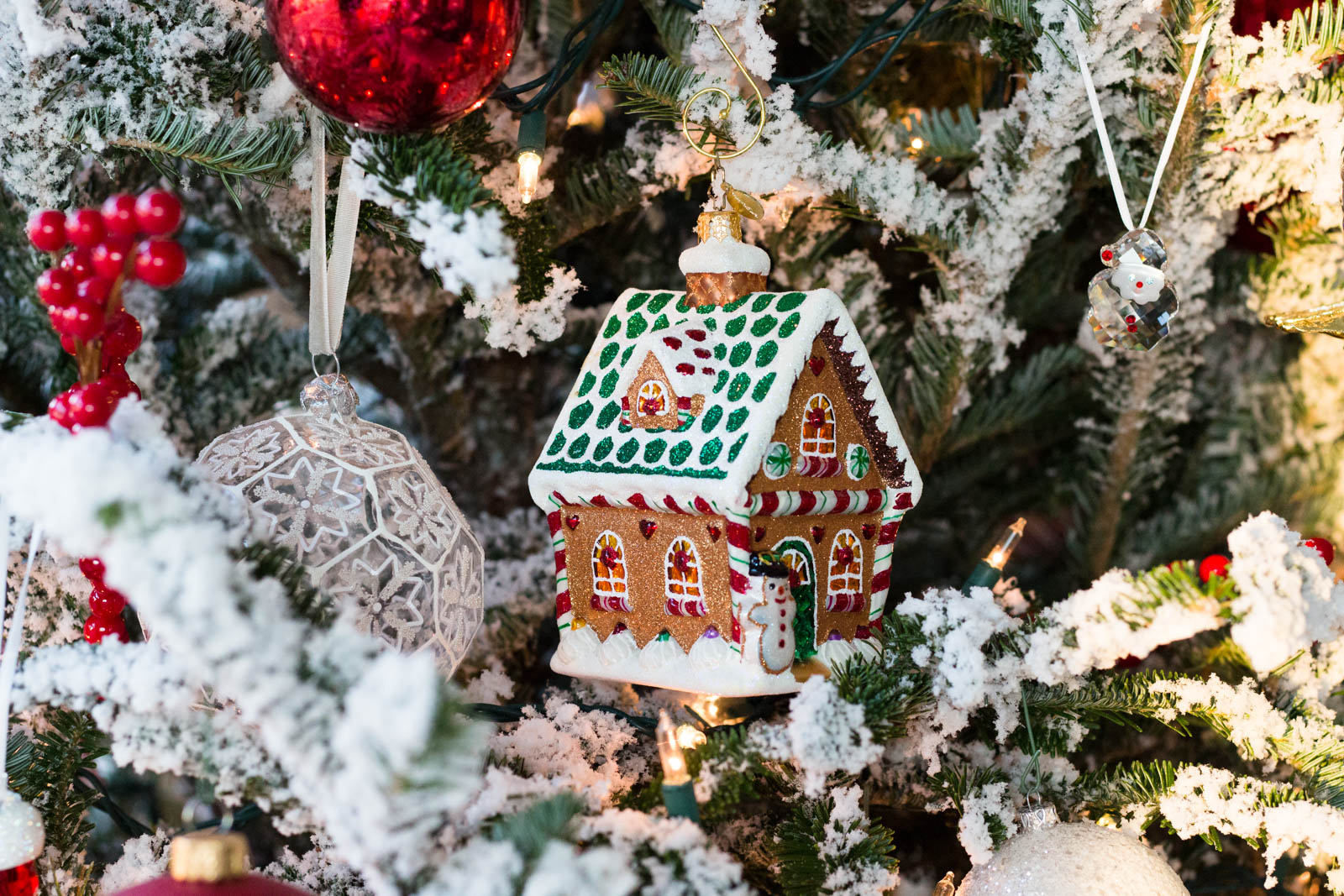 christopher radko gingerbread house ornament