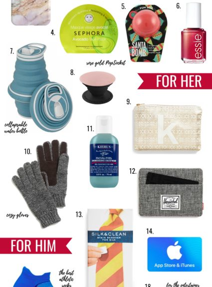 Stocking Stuffers Under $25: His & Hers