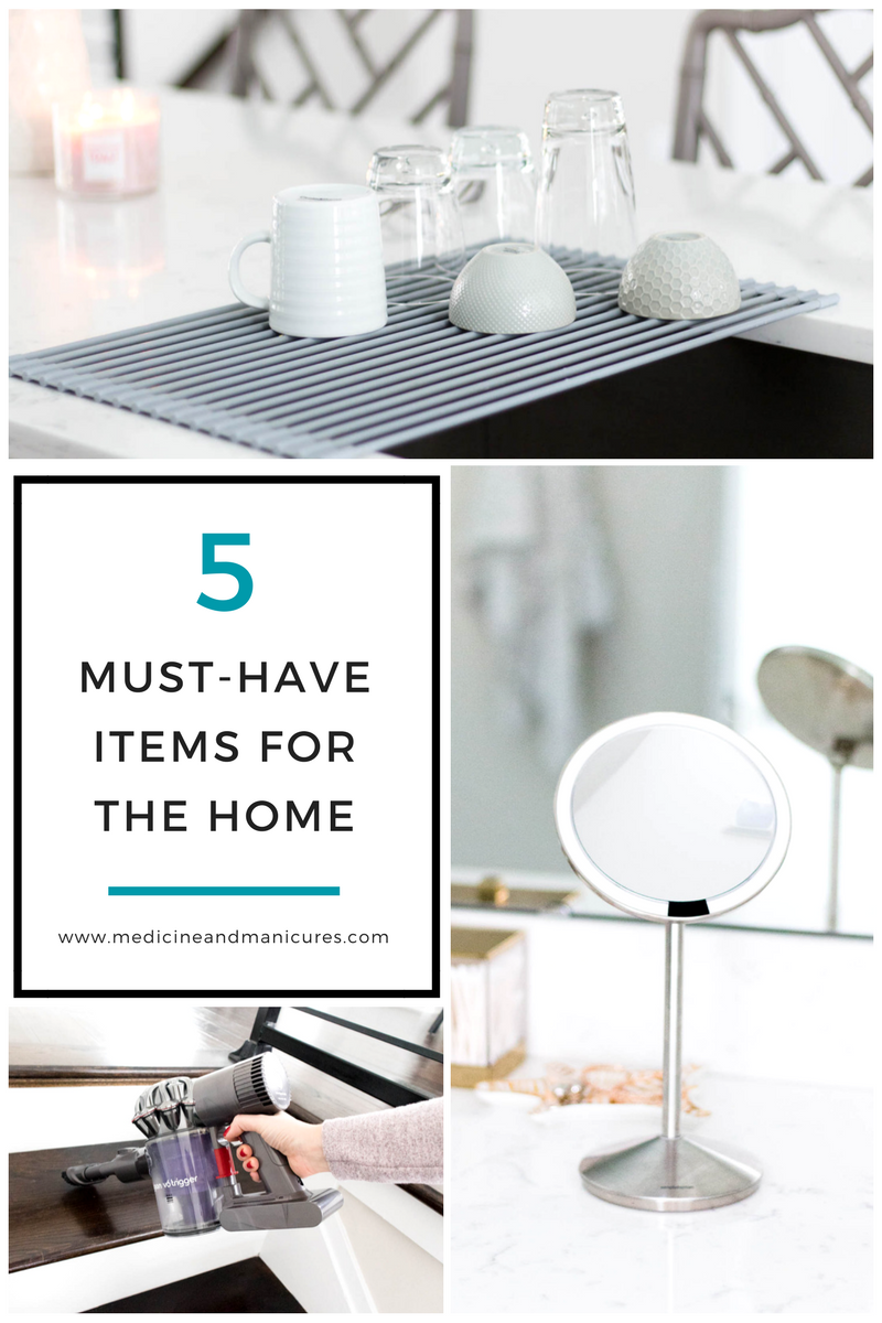 5 must have household items, wedding registry ideas