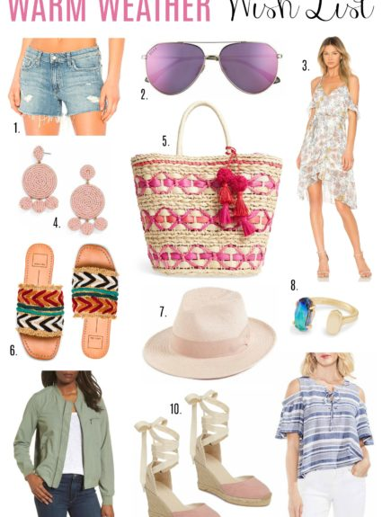 Warm Weather Wish List