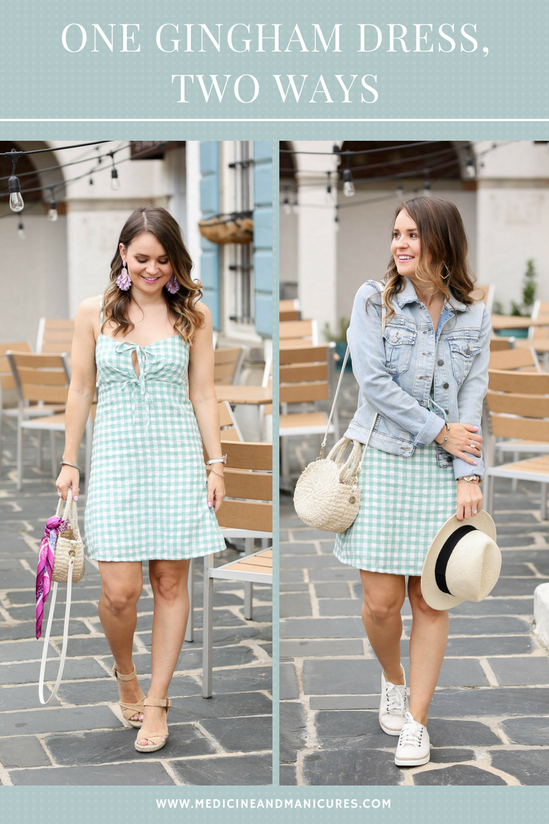 b180fff6f00 One Gingham Dress
