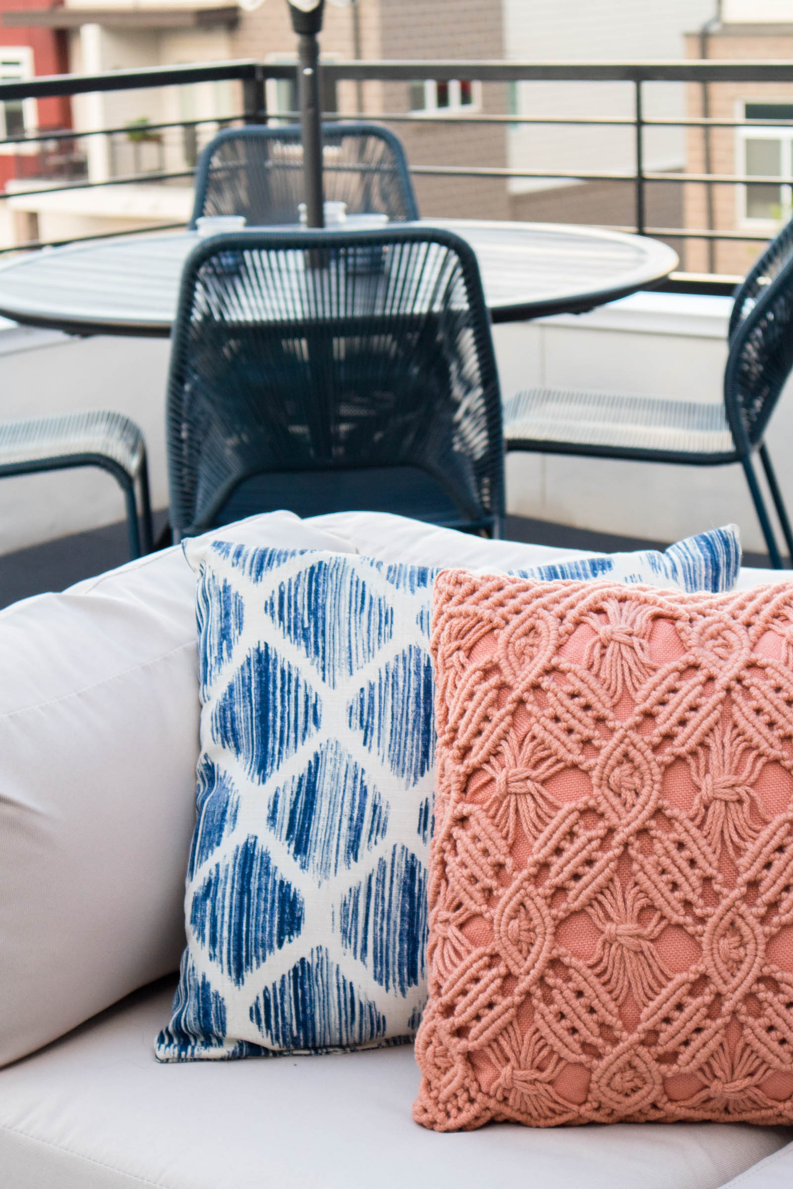 world market macrame outdoor pillow
