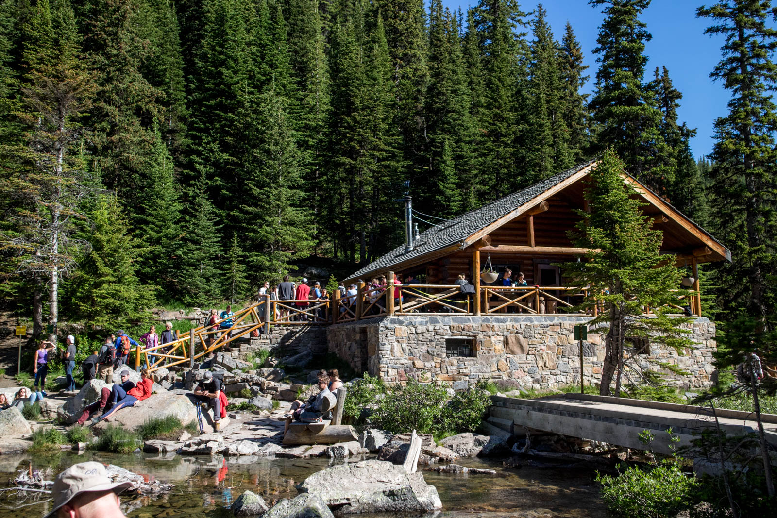 lake agnes tea house