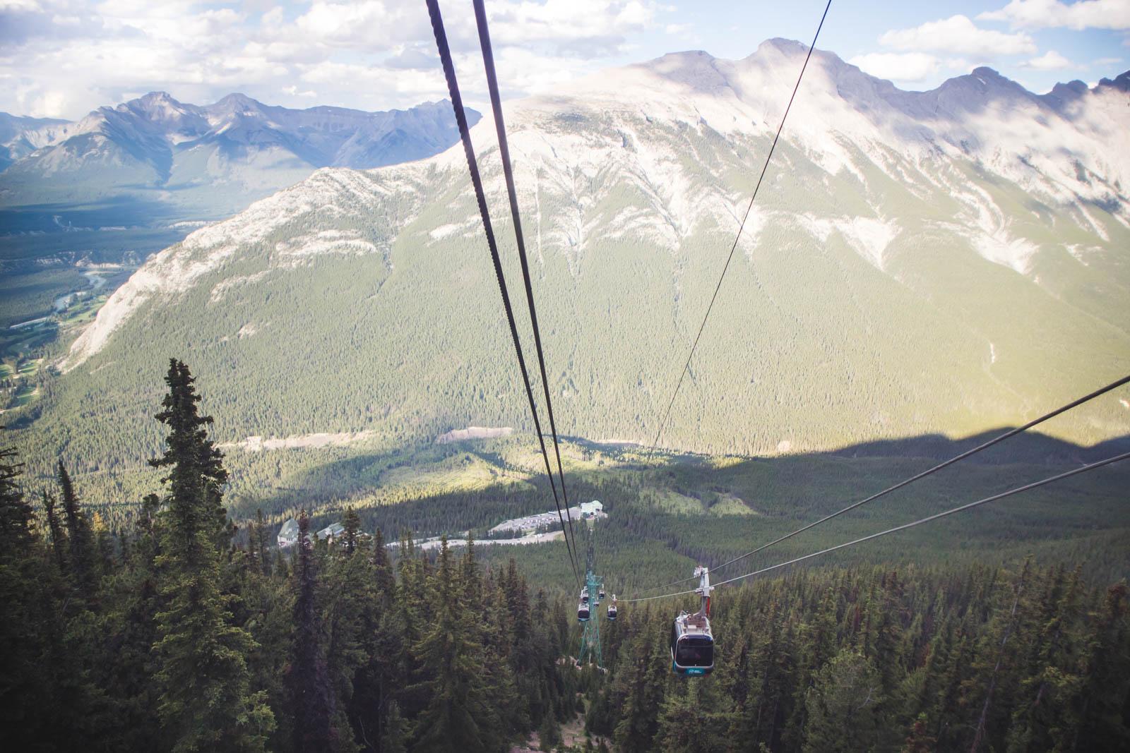 banff gondola, sulphur mountain alberta