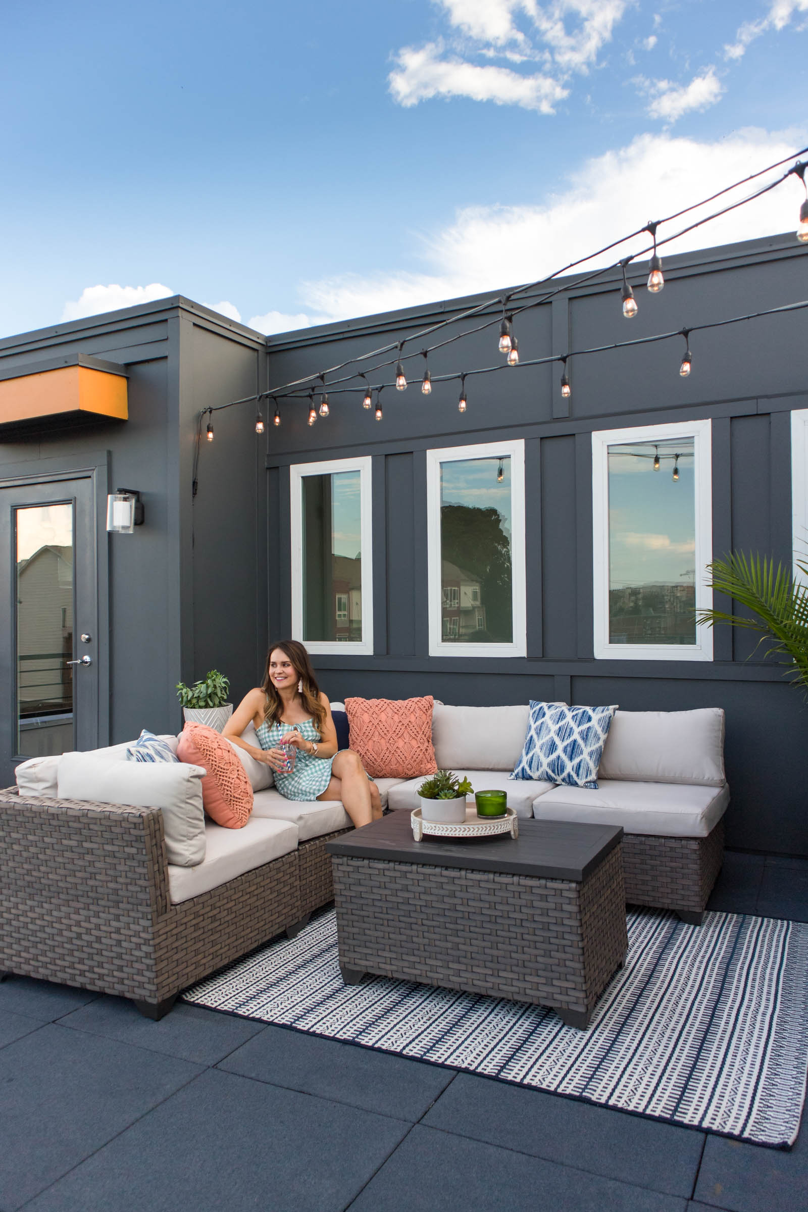 rooftop terrace decor, outdoor patio