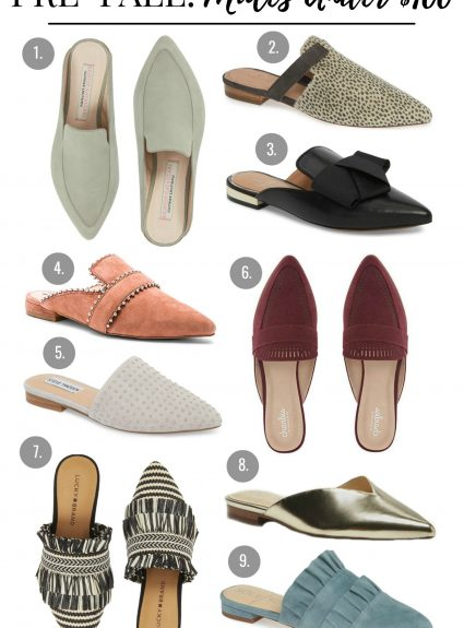 Pre-Fall: Mules Under $100