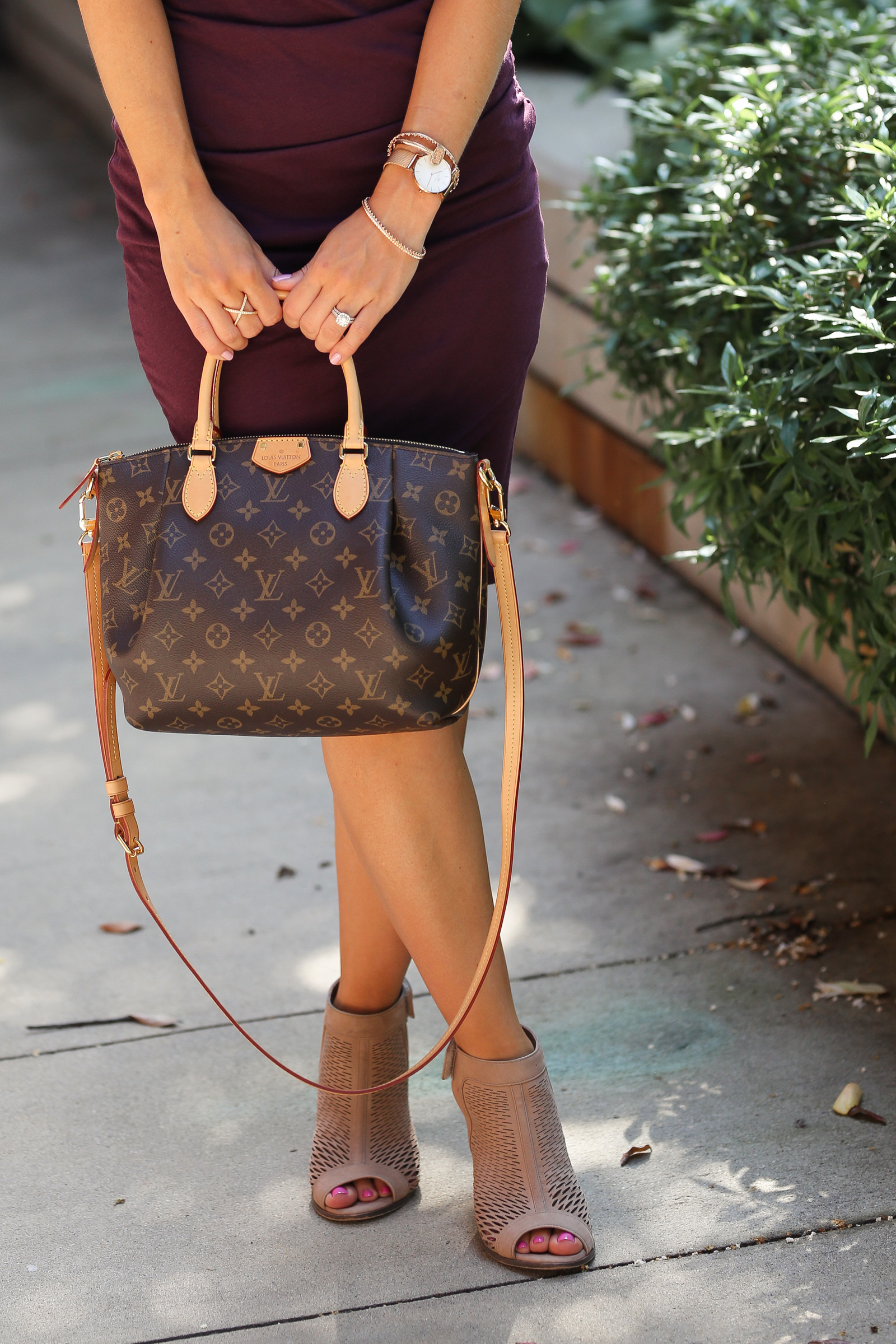 Louis Vuitton Turenne PM, Vince Camuto booties