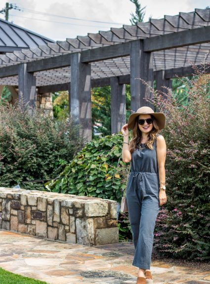 Olive Jumpsuit Under $20 + Fall Plans