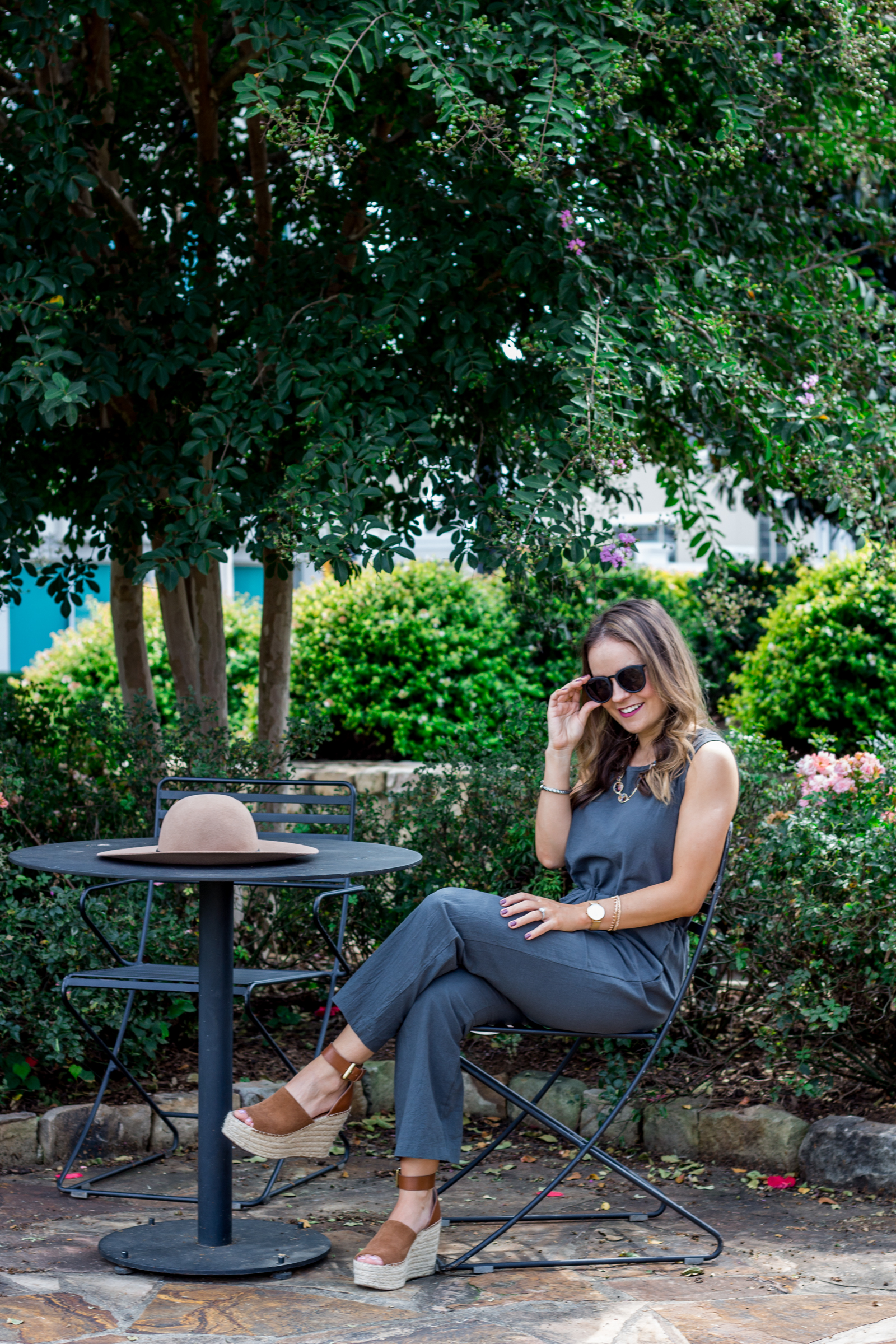 olive jumpsuit, casual fall outfit