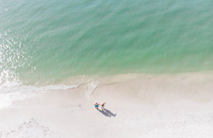 beach aerial photography