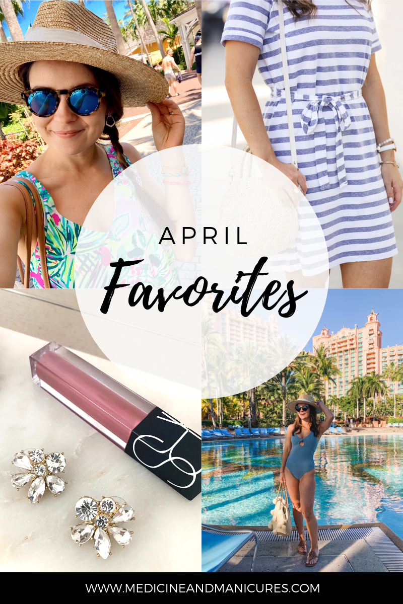 April favorites roundup