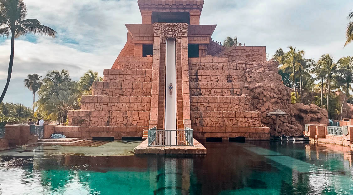 atlantis leap of faith waterslide