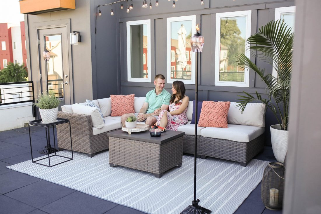 rooftop terrace, patio decor