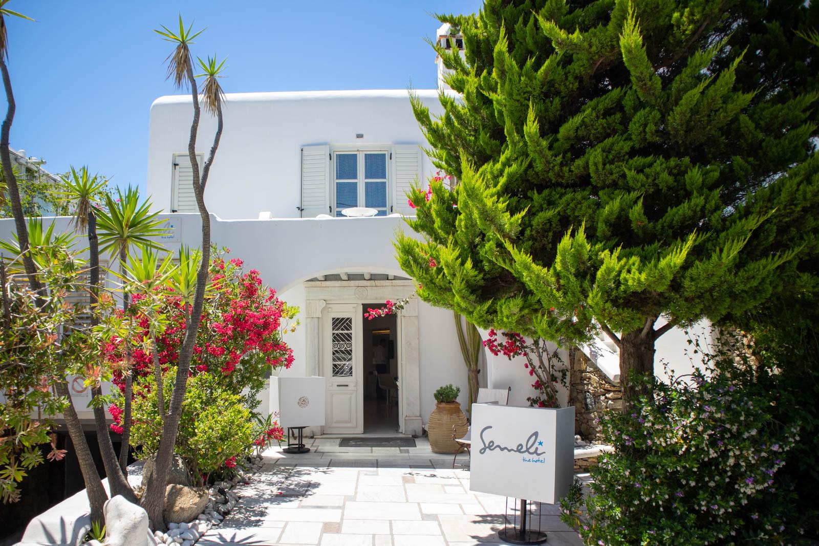 semeli hotel mykonos greece