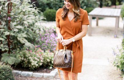 madewell Short-Sleeve Side-Tie Dress