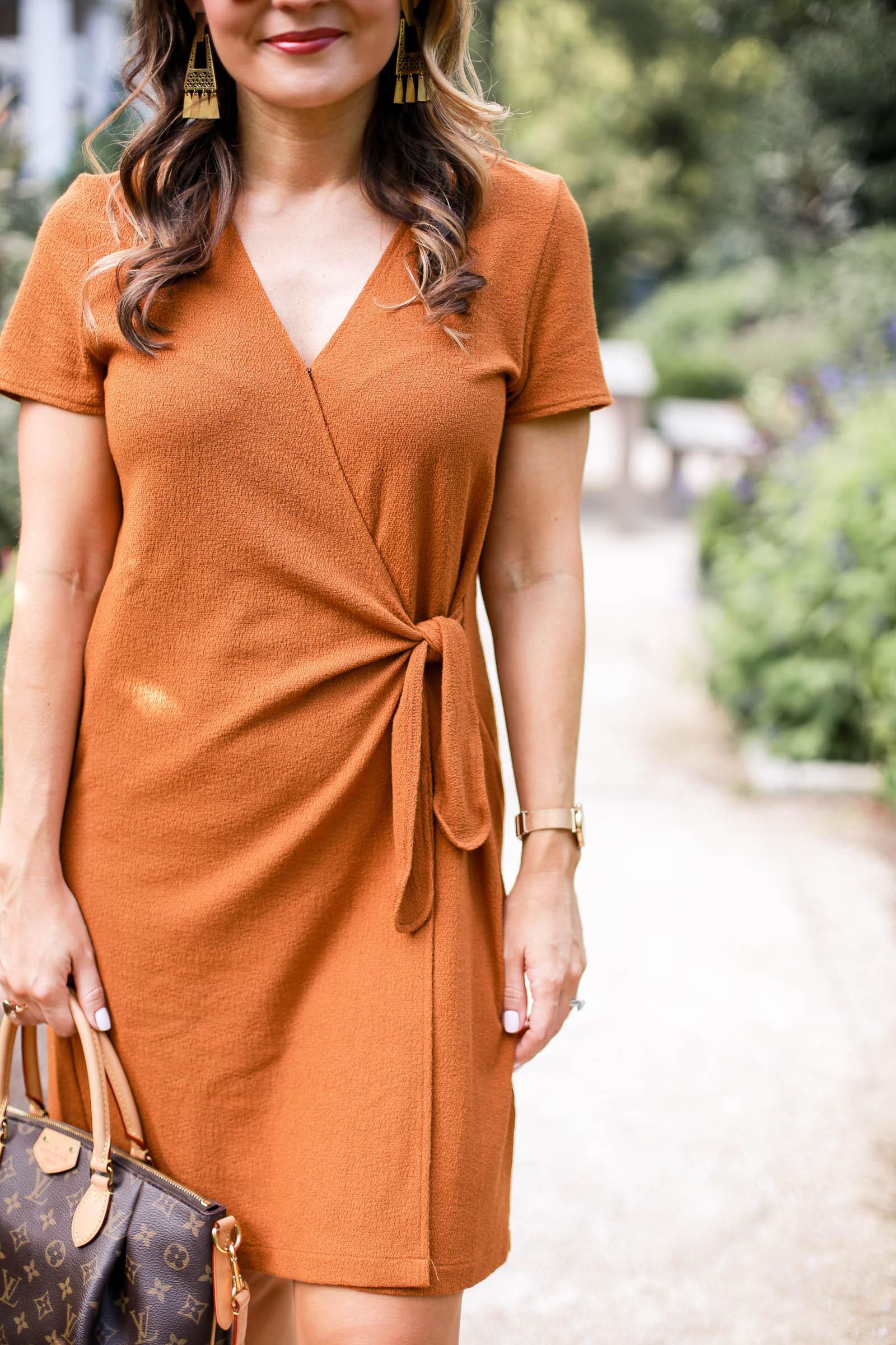 madewell Short-Sleeve Side-Tie Dress