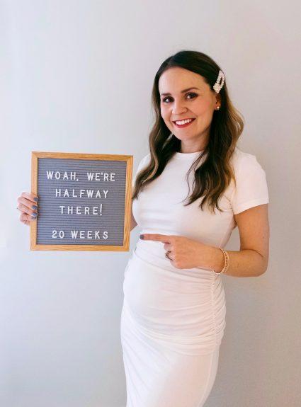 20 Week Bumpdate: Halfway There!