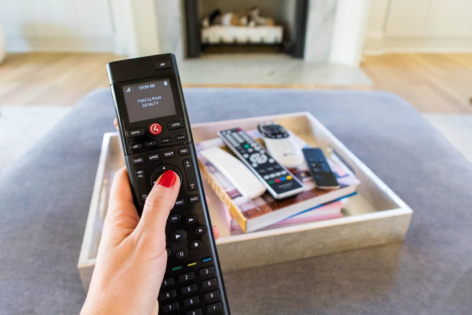 control4, universal remote