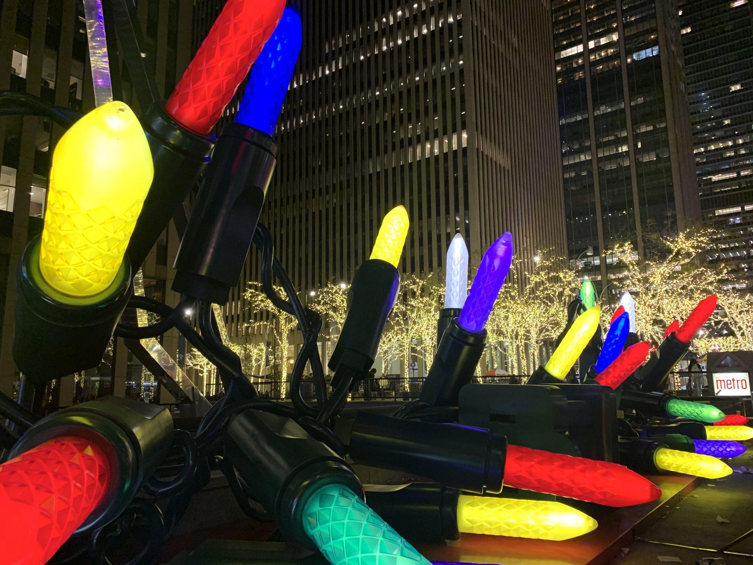 large christmas lights NYC