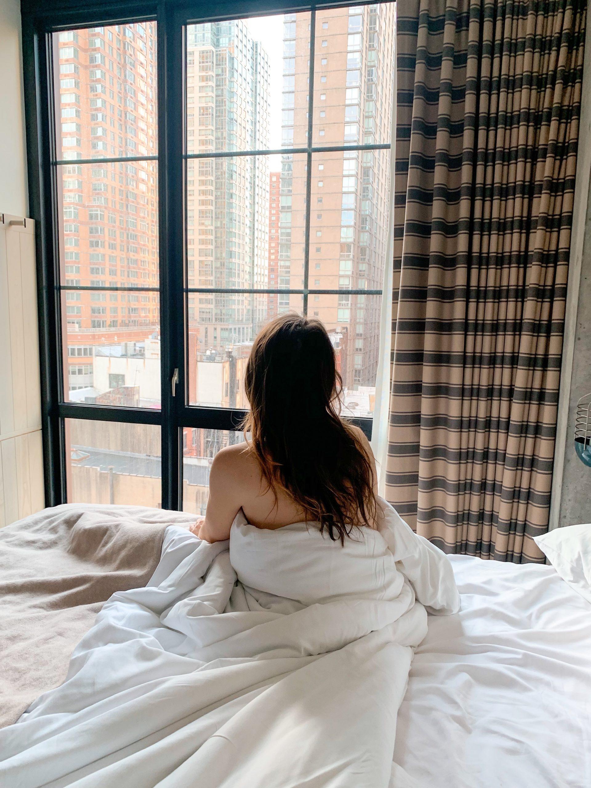 moxy Chelsea hotel room