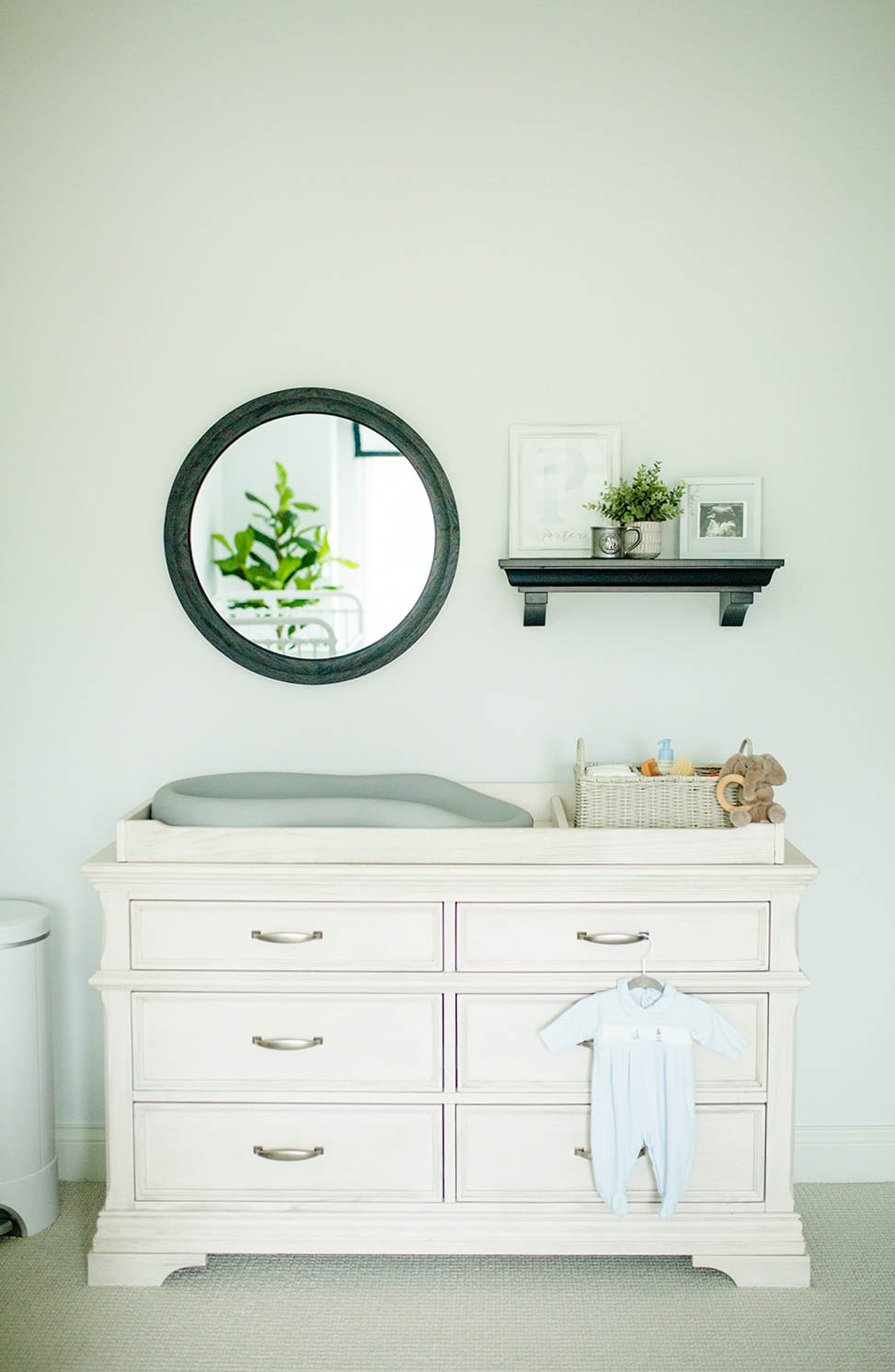 Stella Kerrigan dresser, boy nursery design