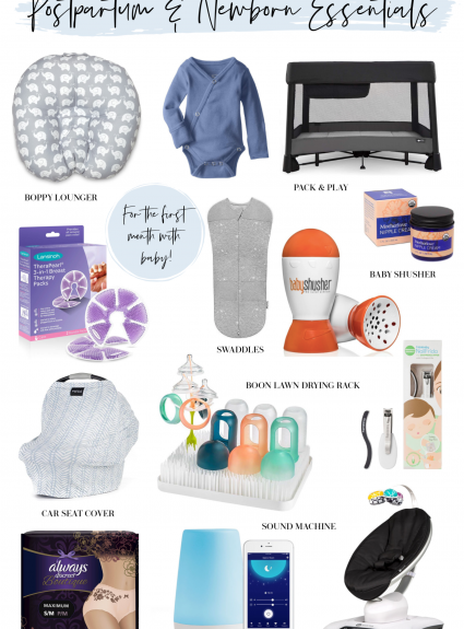 Postpartum + Newborn Essentials