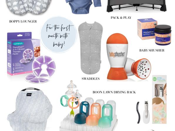 postpartum and newborn essentials
