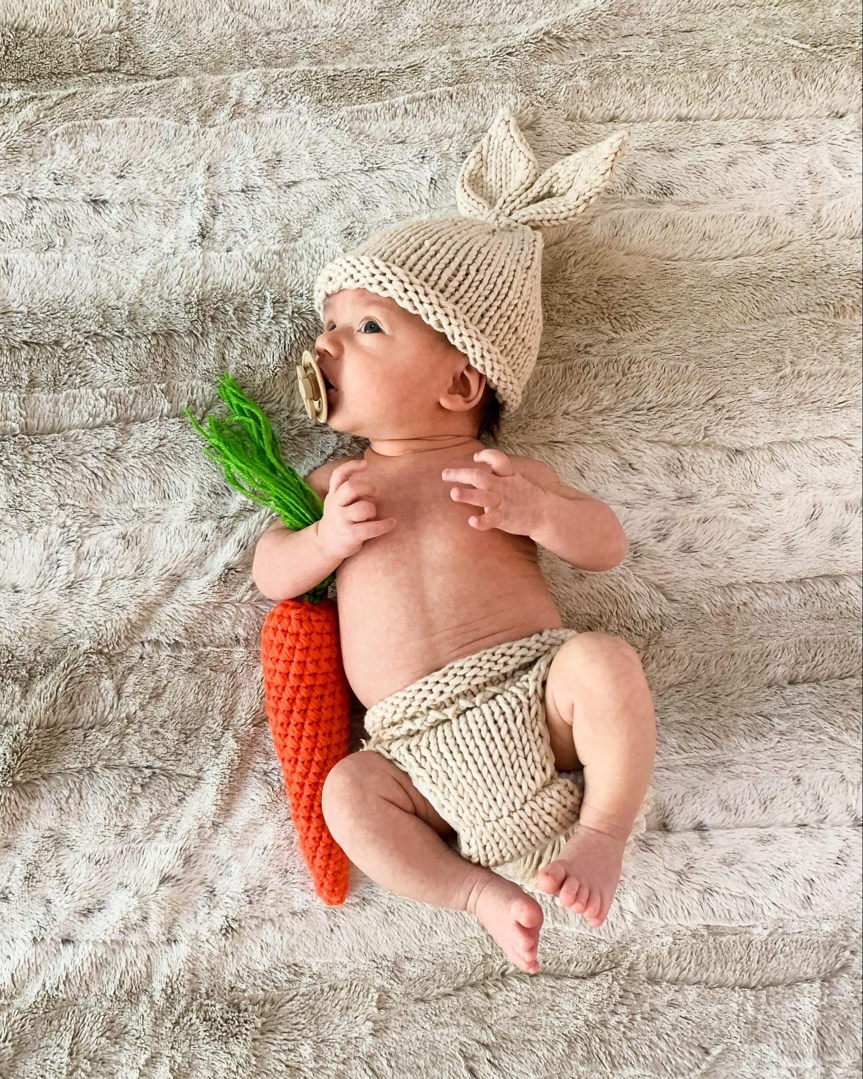 baby bunny photo outfit