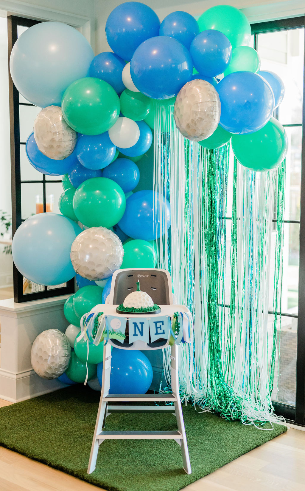 hole in one party, golf birthday party