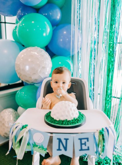 Porter's Hole-In-One First Birthday Party